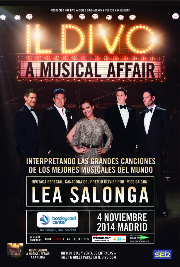 il divo concierto espana: