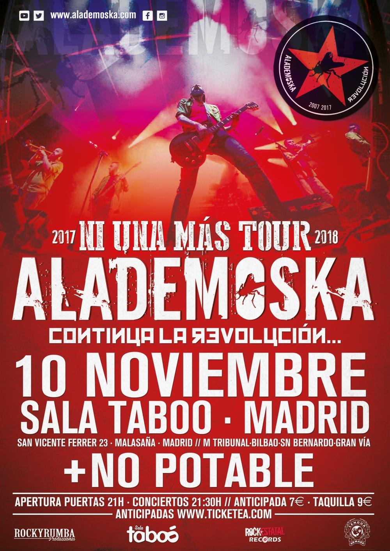 WEB ALADEMOSKA MADRID TABOO